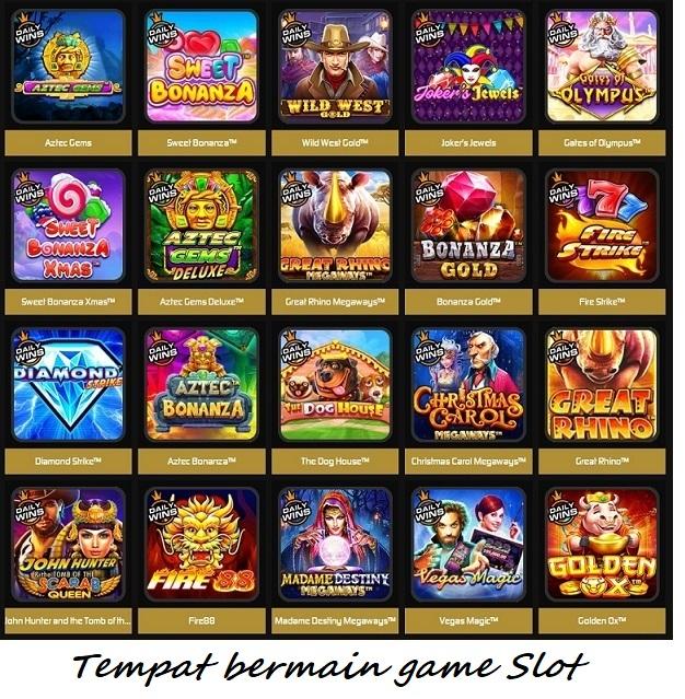 Tempat bermain game Slot
