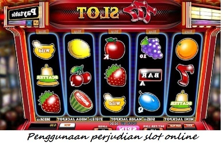 Penggunaan perjudian slot online